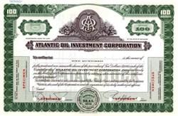 Atlantic Oil Investment Corporation ( Atlantic Oil Corporation )