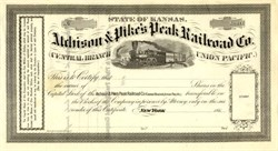 Atchison & Pike's Peak Railroad Company - Kansas