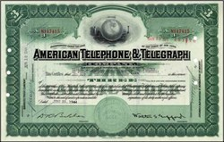 American Telegraph and Telephone Company AT&T 1940's - 1950s