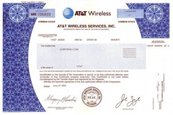 AT&T Wireless Services, Inc. - Formally McCaw Cellular now Cingular Wireless