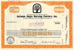 Autumn Aegis Nursing Centers, Inc. - Delaware 1969