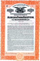 Auburn Park Hospital Buildings - Chicago, Illinois 1928 - Gold Bond