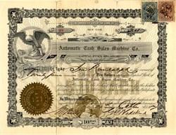 Automatic Cash Sales Machine Co. - New York 1907