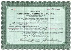 Austinol Chemical Co., Inc. - New York 1920
