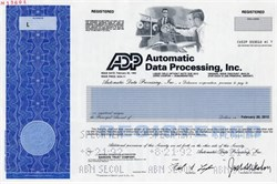 Automatic Data Processing, Inc. ADP - Also provides ADP Jobs Report - 1992