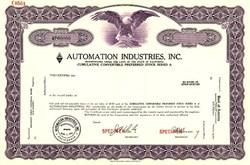 Automation Industries, Inc. - California
