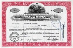 Audubon Park Raceway, Inc. - 1957