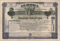 Aurora Consolidated Mining Company - Arizona 1902
