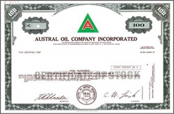 Austral Oil Company Incorporated