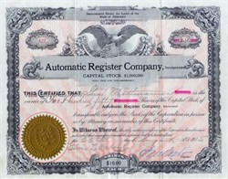 Automatic Register Company 1914 - 1915