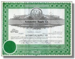 Automotive Supply Company - 1940's