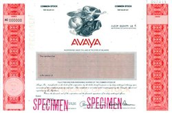 Avaya - Formerly Enterprise Networks Group of Lucent Technologies
