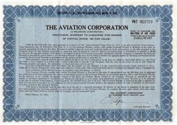 Aviation Corporation 1941 ( Early Textron Company)
