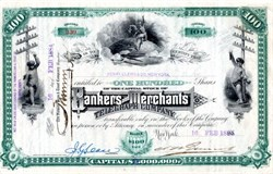 Bankers and Merchants Telegraph Company - 1884