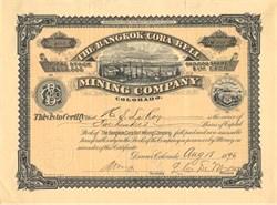 Bangkok-Cora Bell Mining Company - Leadville, Colorado 1896