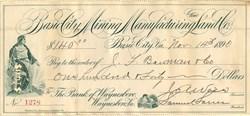 Basic City Mining Manufacturing and Land Co. - Waynesboro, Virginia 1890