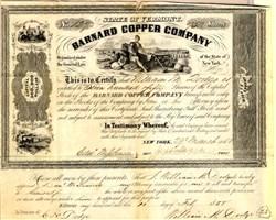 Barnard Copper Company - Vermont 1855
