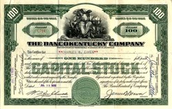 BancoKentucky Company - Delaware 1930