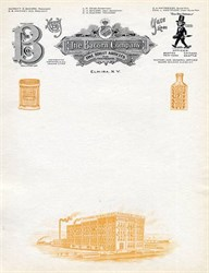 Bacorn Company Letterhead - New York