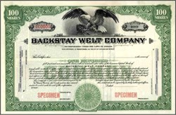 Backstay Welt Company 1948 - Indiana