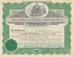 Baird-Gatzmer Corporation