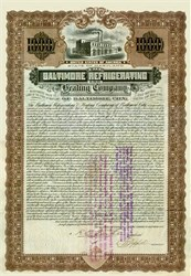 Baltimore City Refrigerating and Heating Company 1902 Gold Bond
