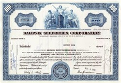 Baldwin Securities Corporation - 1966