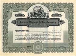 Barstow Mining & Milling Company - California