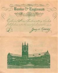 Banks & Engleman 1920's