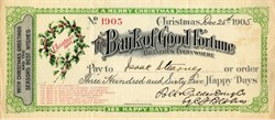 Bank of Good Fortune - Christmas Day December 25, 1905