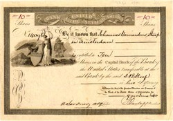 Bank of the United States of America - Pennsylvania 1840
