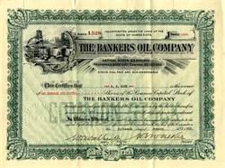 Bankers Oil Company - Minnesota 1918