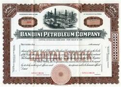 Bandini Petroleum Company - California