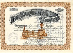 Barr Pumping Engine Company - Pennsylvania 1889