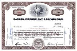 Barton Instrument Corporation - Rocket Vignette - 1960's