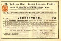 Barbados Water Supply Company, Limited - Barbados 1891