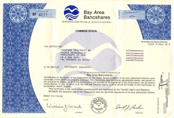 Bay Area Bancshares - Redwood City, California 1990