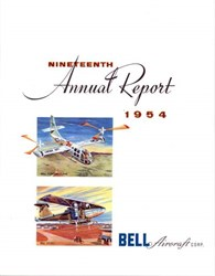 Bell Aircraft Corporation Annual Report 1954