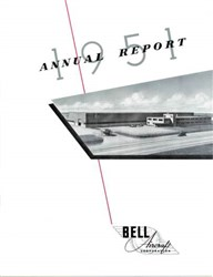 Bell Aircraft Corporation Annual Report 1951