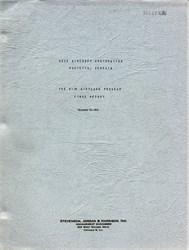 Bell Aircraft Corporation B-29 Airplane Program Report (RARE) - Georgia 1943