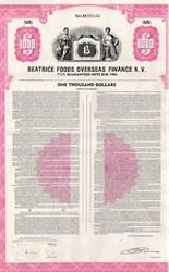 Beatrice Foods Bond Reddi-Wip Whipped Cream
