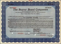 Beaver Board Companies (Certain Teed Products)