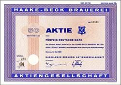 Beck's Beer Certificate