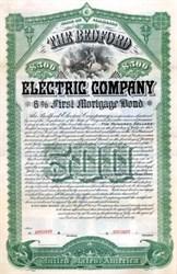 Bedford Electric Company 1890 - Virginia