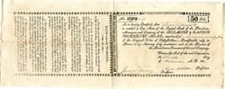 Belmont & Easton Turnpike Road - Pennsylvania 1820