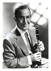 Benny Goodman signed photograph