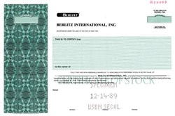 Berlitz International, Inc. (Now Berlitz Corporation) - New York 1989