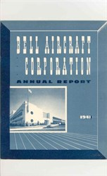 Bell Aircraft Corporation Annual Report 1941