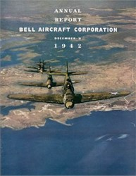 Bell Aircraft Corporation Annual Report 1942 - Squardron of Aircobras on Cover