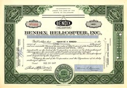 Bendix Helicopter, Inc. 1947